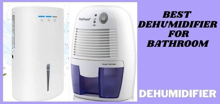 Best Dehumidifier For Bathroom according to Reddit