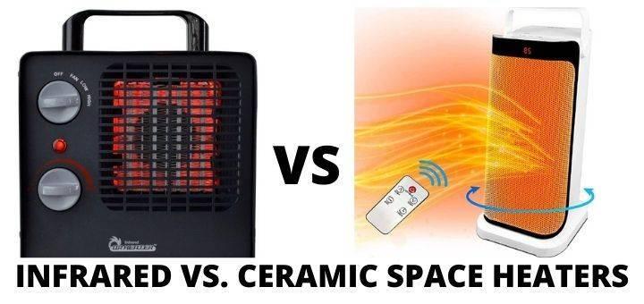 INFRARED VS. CERAMIC SPACE HEATERS