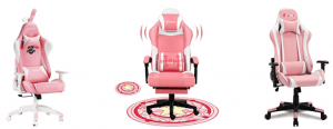 Pink Gaming Chair vs office chair What Is The Deferent